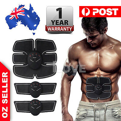 Muscle ABS Stimulator Training Gear Ultimate Trainer Fit Body Home Exercise Belt