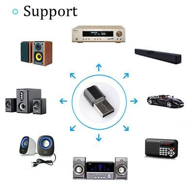 Mini Wireless Bluetooth Car Kit 3.5mm Dongle Jack Aux Audio Receiver Adapter