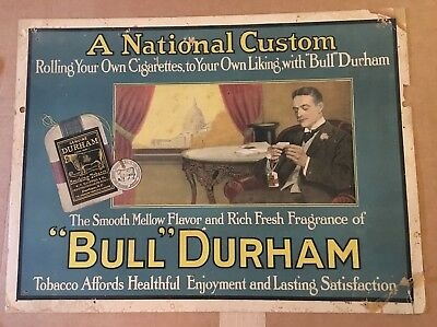 Bull Durham Playing Cards Tobacco Advertising1999 Sealed