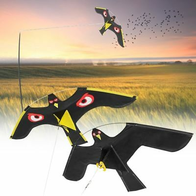 Flying Hawk Scarecrow Garden Bird Scarer Yard Kite Home Decoration Crow Repeller