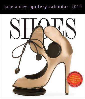 Shoes Gallery Desk Calendar 2019 Lifestyle  Page A Day