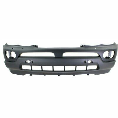 Front Bumper Cover For 2000-2003 BMW X5 3.0//4.4L Eng w// HLW//Park Sensor Holes