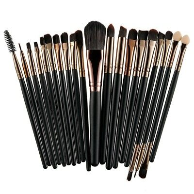 Kit Pinceaux Maquillage Professionnel Brosse à Maquillage Makeup Brush Set 20pcs