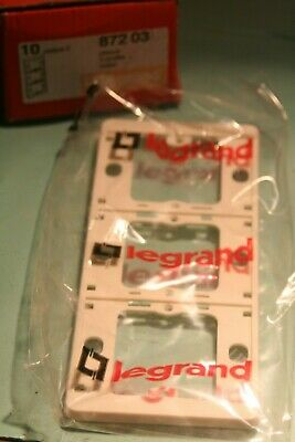 Enjoliveur manette double  legrand sagane  Métalide 87405 874 05