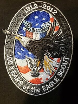 Boy Scouts - 100-years of the Eagle Scout patch -mint- 1912-2012