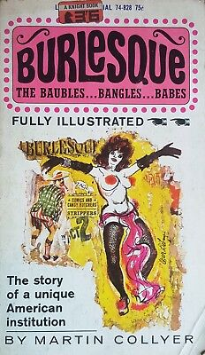 Burlesque The Baubles The Bangles The Babes 1964 Trade Paperback Adults Only 18+