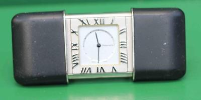 Tiffany & Co Vintage Atlas Travel Clock Very **rare** Black