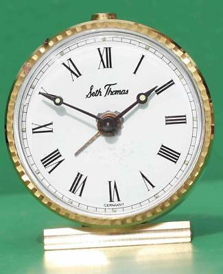 Seth Thomas Vintage Travel Alarm Clock Assembled In Germany