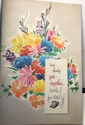 Vintage 1958 Calendar Daily Get Together Book Bell Telephone Company Cute & Fun