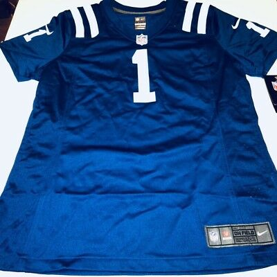 360f818c5 Nike NFL Indianapolis Colts Pat McAfee Jersey  1 Women s Size XL Blue New