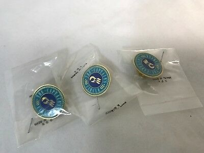 Princess Cruise Line The Captain's Circle Pin Pinback Lot of 3 New $9.95