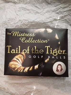 Collectible Tail of the Tiger Golf Balls The Mistress Collection Tiger Woods