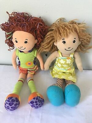 "Manhattan Toy Groovy Girl Kayla 2001 Sarina 2007 13"" Doll Red Blonde Hair"