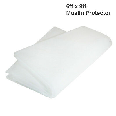 White Screen Backdrop Photography Studio Background Protector 6'x9' ft