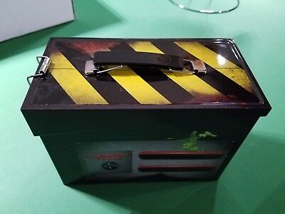 NERD BLOCK EXCLUSIVE Ghostbusters Ghost Trap Tin Lunch Box & Slimer Plush NEW