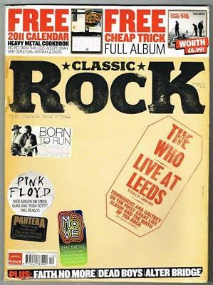 Classic Rock Magazine No.152 December 2010 MBox857 The Who Live at Leeds