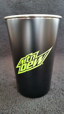 New Mountain Dew Stainless Steel Pint Cup MTN DEW