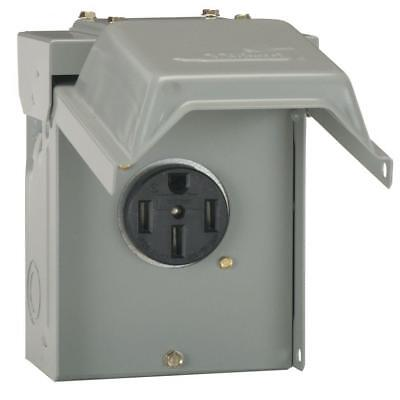 Midwest U054P RV Power Outlet Panels Outdoor