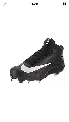 a47da8ec66b4 Nike Force Zoom Mike Trout 3 Mid Metal Baseball Cleats Spikes Men s 12 New
