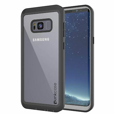 buy online e44a7 99cd5 PUNKCASE GALAXY S8 Plus Lightweight Screen Protector Clear Case ...