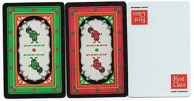 3 Air India Airlines Swap Playing Cards