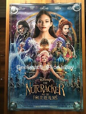 The Nutcracker And The Four Realms DS Theatrical Movie Poster 27x40