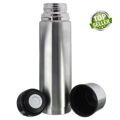 Unbreakable Stainless Steel Vacuum Flask Coffee Bottle Thermos soup 350ml
