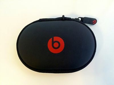 Hard Case For Beats By Dr Dre PowerBeats 2 / 3 Wireless UrBeats Tour Black/Red