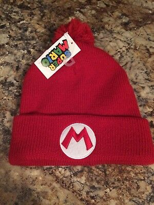 2dd0628c4a8 Bioworld Super Mario Luigi POM Beanie Christmas Holiday