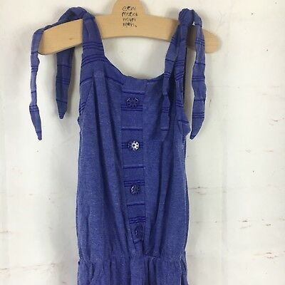 Miss Metalicus Girls NWT Blue Playsuit 8-10 (R)