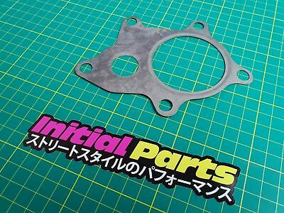 "T3 T4 T34 T04B T04E Garrett Turbo Outlet Metal Gasket 2.25"" (5 Bolt) Stainless"