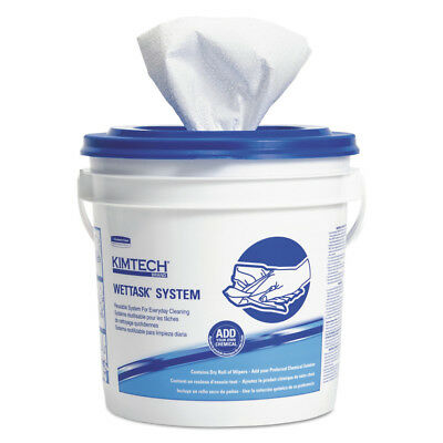 Kimberly-Clark Wettask System-Bleach/disinfectant/sanitizer W/bucket,12x12.5, 90