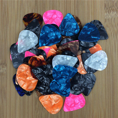 New 10000X Acoustic Bulk Celluloid Electric Smooth Guitar Picks 0.96mm Heavy 351