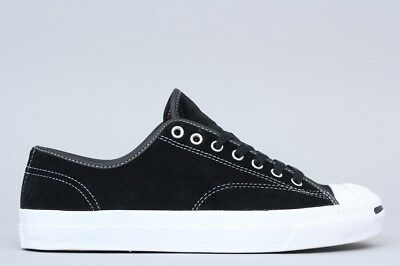 CONVERSE JACK PURCELL LEATHER OX BLACK WHITE MEN S SIZE 10 SHOES ... 2fe8044e1