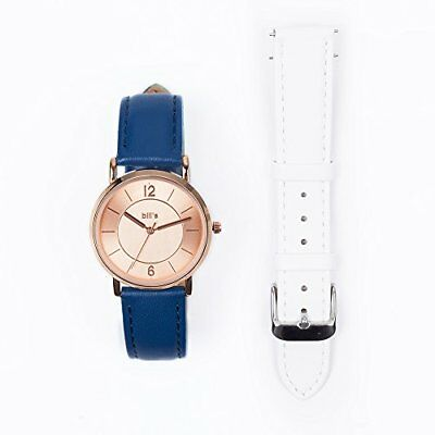 Bill' s Watches Orologio Donna in pelle lusso Trend Pelle Pack Bracciale (x0w)