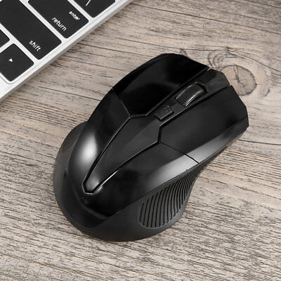 2.4 GHz Wireless Optical Mouse Mice + USB 2.0 Receiver for PC Laptop LOT XA
