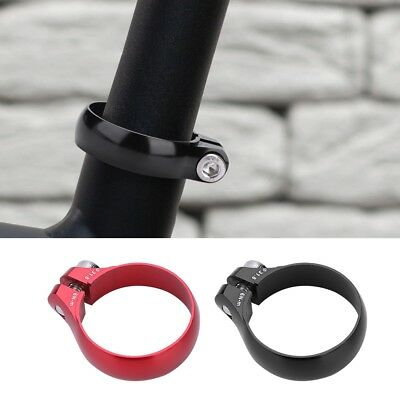 Aluminum Alloy Bike Bicycle Bolt Clamp 31.8mm for 27.2mm Mountain Bike Seatpost