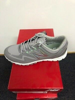 6bfd856371f29 New Balance NBGW 1005 Minimus WP Spikeless Womens Golf Shoes - Grey/Green