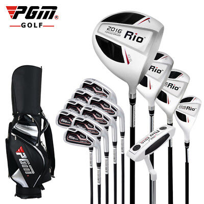 PGM Mens 13-Piece Complete Golf Set with Bag Right Handed Black