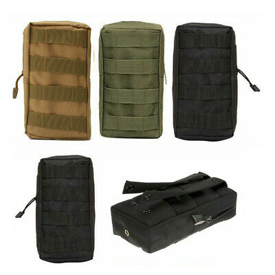 Tactical Molle Pouch Fanny Waist Pack Outdoor Military Belt Bag EDC Phone Pocket
