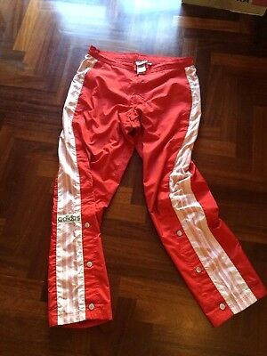 Adidas Pantalone Pants Adibreak Bottom Popper Old School Tracksuit Vintage 1990