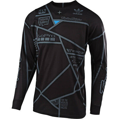 NEW Troy Lee Designs Mx 2019 SE Metric KTM Team Black Motocross Dirt Bike Jersey