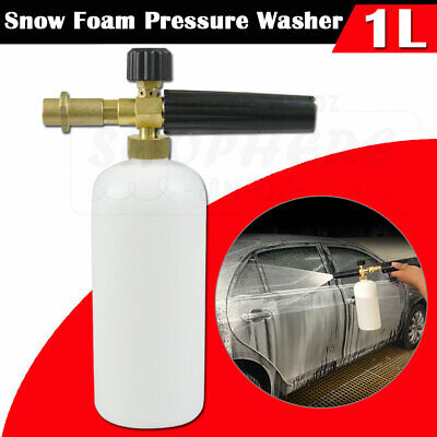 1L Snow Foam Gun Lance Cannon Soap Bottle for Car Pressure Washer Karcher K2-K7