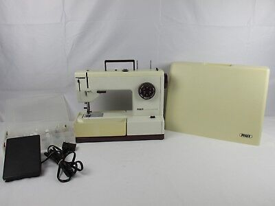 Vintage PFAFF 1215 Synchromatic Sewing Machine IDT Dual Feed Just Serviced