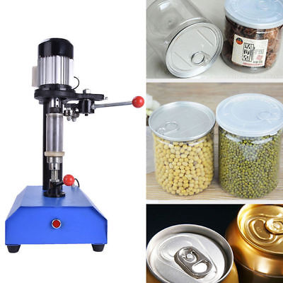 Semi-Auto Cans Sealing Machine Sealer Food Tin Jar Capper 220V Great