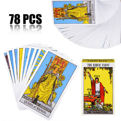 78Pcs Rider Waite Tarot Deck Beginners Enthusiasts Gift Games Most popular Cards