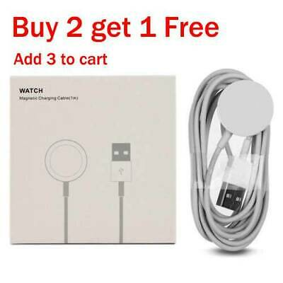 For Apple Watch Series 1/2/3 iWatch 38/42mm Magnetic Charger Charging USB Cable