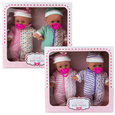 New Beautiful Soft Design Ollie & Olivia Baby Twin Dolls suitable for children