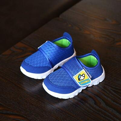 Children Kids Casual Sport Mesh Shoes Breathable Boy Girl Soft Sole Autumn