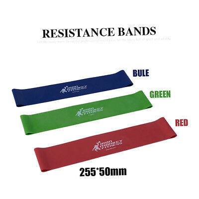 Tension Resistance Band Exercise Loop Crossfit Strength Weight Training KF